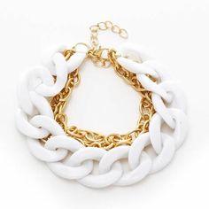 #handmade #bracelet, #jewelry http://www.beads.us/product/Copper-Coated-Plastic-Bracelet_p171585.html?Utm_rid=219754