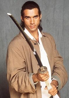 Duncan MacLeod (Adrian Paul) Highlander, TV fantasy series aired in syndication for 60 minutes per episode. It was based on 1986 and 1991 Highlander movies. The immortals could only be killed by decapitation! If one immortal slayed another, they gained the power of the fallen immortal.   Roger Daltrey played MacLeod's immortal friend Hugh Fitzcairn (he really loves women) in numerous episodes.  They are worth watching over and over. tv-dramas