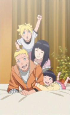 Now I kinda understand why Boruto's so angry at Naruto like that. He loves his dad so much and extremely wants this happy moment back.