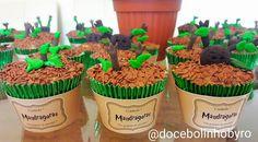 Doce Bolinho by Ro: Cupcake Mandrágora