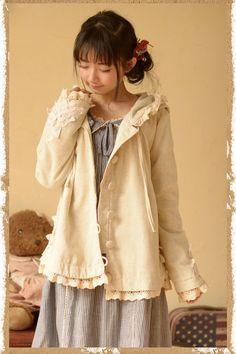 ❀Mori Kei Jacket Adorable