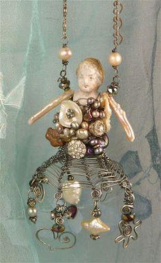 Sharilyn Miller: NEW Vintage Doll Necklace workshop