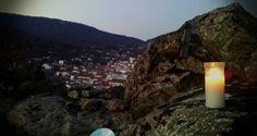 Pueblo Toledano (Una vela en el  ocaso...)