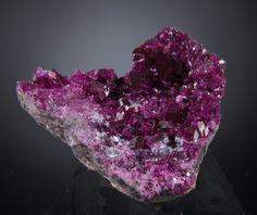 Clinochlore Var. Kammererite (very fine crystals)  Kop Daglari, Erzerum  East Anatolia, Turkey