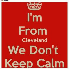 Cleveland oh how I love it.