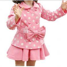 Bébé Enfants Filles Fleur Rose à Rayures Princesse Courroie Robe Vêtements Tenues