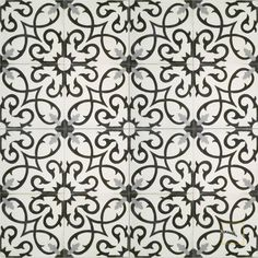 Lucifer C14-4-24 - moroccan cement tile