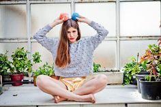 "via en.dawanda.com Other – ""Sabrina Sweater"" knitting kit – a unique product by weareknitters on DaWanda"