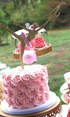 Pink & Gold Ballerina Birthday Party Ideas | Photo 6 of 21