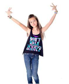 Sadie Jane Dancewear - Don't Walk Dance Tank, $30.00 (http://www.sadiejane.com/dont-walk-dance-tank/)