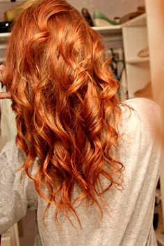 Beautiful red hair. #Hair #Beauty #Redheads Visit Beauty.com for more