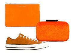 Orange also in you Fall/Winter accessory