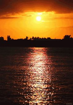 ✿ ❤ Sunset animation GİF... http://decentscraps.blogspot.mx/search/label/Sunsets?max-results=6