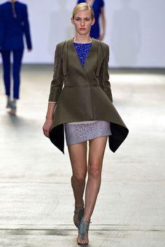 Antonio Berardi Spring 2013 Ready-to-Wear Fashion Show - Emily Baker
