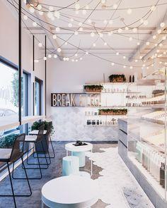 """Kiev cafe """"BREAK A LEG"""" on Behance"""