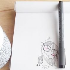 MondayzZzz #commeunlundi #inktober #sketchbook #doodle #drawing #illustration #dessin #sketch #staedtler #ink #fuckingmonday #hibernatiooon Pencil Art Drawings, Easy Drawings, Art Sketches, Doodle Illustrations, Drawing Journal, Doodle Art Journals, Bird Doodle, Sketchbook Inspiration, Chalk Art