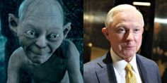 Sessions, are you in fact related to Smeagol, aka Gollum? Chronic Liar, Babylon The Great, Before The Fall, Election Night, Jeff Sessions, Keep It Real, All You Can, We The People, Donald Trump
