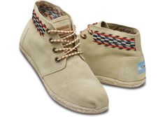 TOMS Sand Alarco Women's Desert Botas $79 || Can't tell if I love them or hate them
