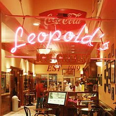 Leopold's Ice Cream Shop in Savannah - featured in Southern Living