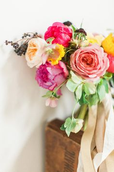 Summer flower ideas by Amy Osaba Events | Photo by Haley Sheffield