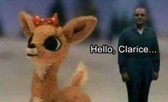 Run Clarice! 😂