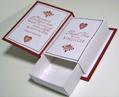 Matchbox book