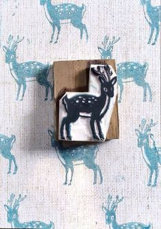 How to make DIY foam stamps via lilblueboo.com...