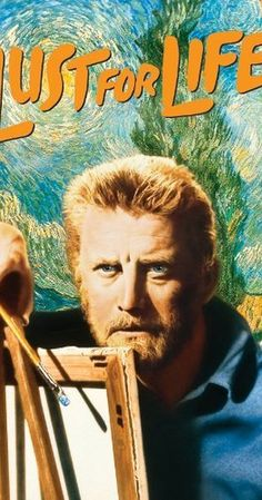 Vincente Minnelli's 'Lust for Life', 1956 - Starring, Kirk Douglas, Anthony Quinn & James Donald - In this beautifully conceived film, Vincent Van Gogh is the archetypical tortured artistic genius. His obsession with paining, combined with his manic depressive illness, jettisons him into an unhappy life, full of failures & set backs, plus unrewarding relationships. He has tempestuous relationships with both women, & later with Paul Gaugin, a fellow artist.