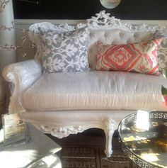 amazing sofa at Fetch Antiques and Interiors