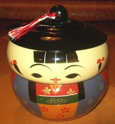 Japanese Lacquerware Kokeshi