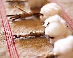 a cotton boutonniere! so freakin cute!