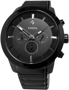 Fossil FS4531 Black Mens Watch