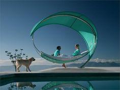 Aluminium garden bed WAVE by ROYAL BOTANIA   design Erik Nyberg, Gustav Ström