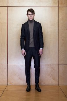 Officine Generale - Fall 2015 Menswear - Love this entire collection. May be my winter wardrobe next year.