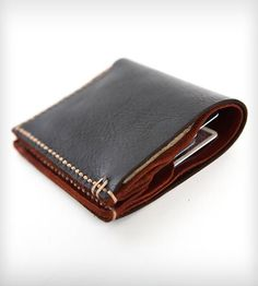 Bison Leather Bi-Fold Wallet | Cambria Handmade
