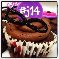 Cupcakes for a 14 year old fashionista. Cupcake Cakes, Cupcakes, Ever And Ever, Infinity Symbol, My Doodle, Birthday Cakes, Birthday Ideas, Birthdays, Symbols