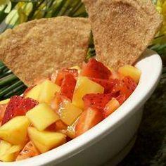 Mango-Strawberry Salsa Allrecipes.com