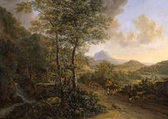 BOTH JAN (ОКОЛО 1615 - ОКОЛО 1652) Italian landscape, with Monte Socrate