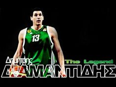 The Legacy of a Legend - Dimitris Diamantidis Tank Man, Basketball, Green, Mens Tops, Netball