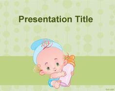Fondo de PowerPoint de bebés o de alimentación de bebés es un fondo de PowerPoint o plantilla PowerPoint para alimentación de bebe en el cual podrás poner el contenido de tu presentación