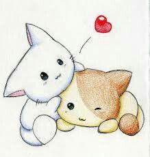 Dos gatitos muy tiernos!