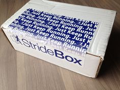 StrideBox Review - Monthly Subscription Box for Runners