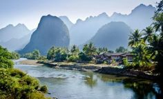 Adventure Travelling: Mountains in Vang Vieng, Laos - Hubub