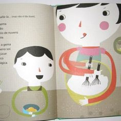 "Like these illustrations from the book ""Como e que uma galinha"" - from Book by it's Cover"