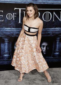 "rubisrose: "" Maisie Williams | Game Of Thrones Los Angeles Premiere """