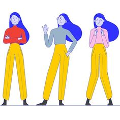Create a new digital and authentic character Illustration or graphics contest design Miffspo Illustration Design Graphique, Simple Illustration, Character Illustration, Graphic Illustration, Floral Illustrations, Anim Gif, Simple Character, Character Design Animation, Character Flat Design