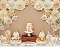 Vintage Wedding Guest Dessert Feature | Amy Atlas Events