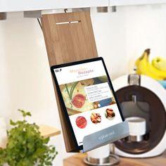 Der Kochbuchhalter - Captain Cook ist ein nützliches und schickes Hilfsmittel für die Küche, das in Deiner Küche viel Platz spart und dadurch das Kocherlebnis um einiges angenehmer gestaltet.