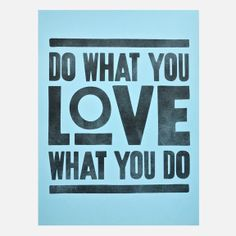 Ugmonk - Do What You Love – Blue