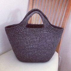 Discover thousands of images about Crochet Backpack Free Patterns for Big Kids&Adults - Crochet Backpack, Crochet Tote, Crochet Handbags, Crochet Purses, Free Crochet, Tshirt Garn, Mochila Crochet, Orange Handbag, Diy Bags